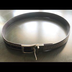 Men's Coach Belt (34' large)